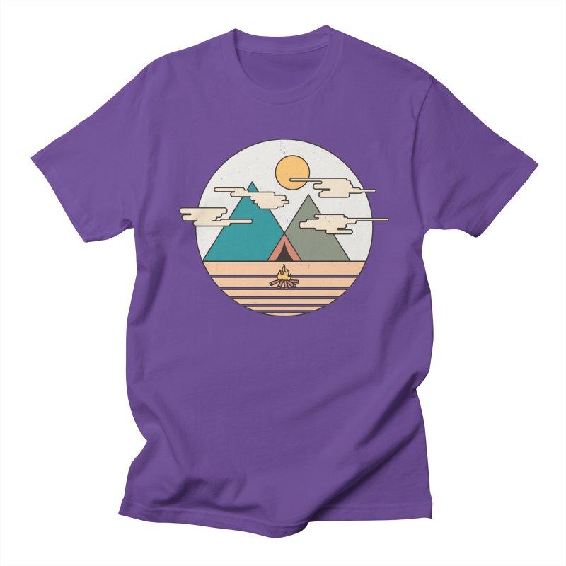 BENEATH THE MOUNTAINS Men's T-shirt by alchemist's Artist Shop