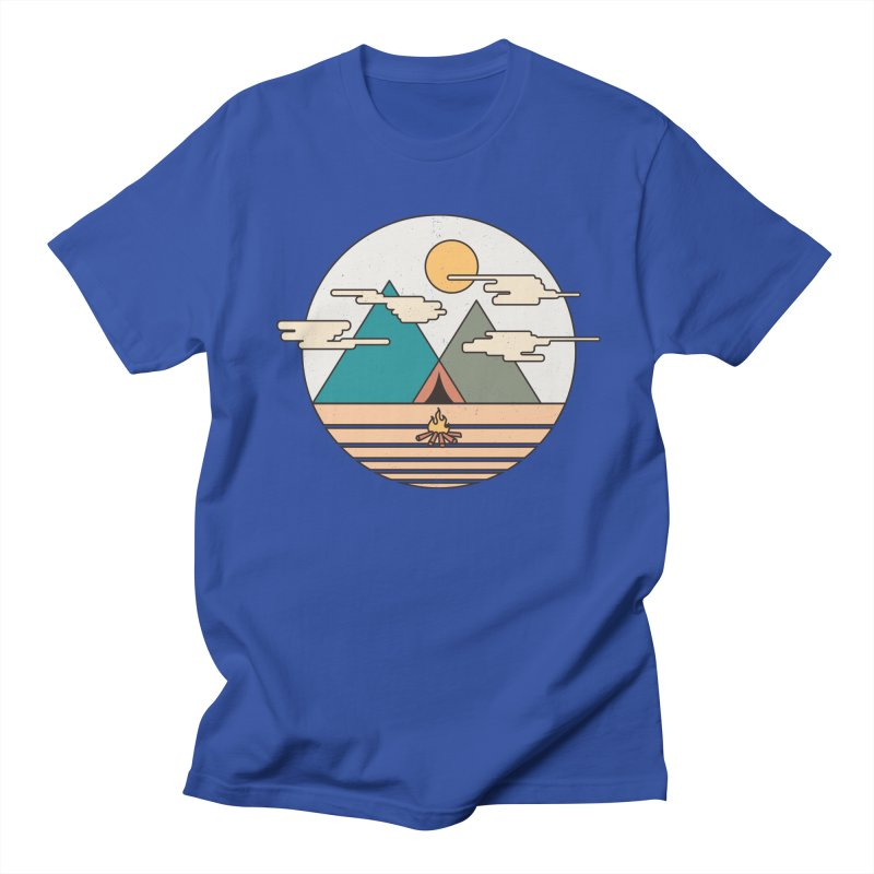 BENEATH THE MOUNTAINS Men's T-shirt by alchemist's Artist Shop