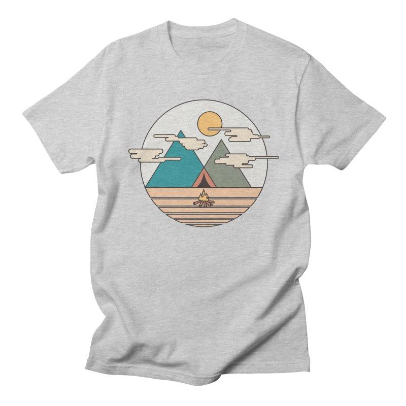 BENEATH THE MOUNTAINS Women's Unisex T-Shirt by alchemist's Artist Shop
