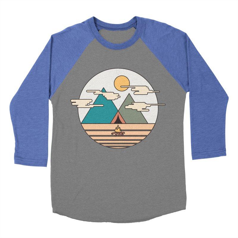 BENEATH THE MOUNTAINS Women's Baseball Triblend T-Shirt by alchemist's Artist Shop
