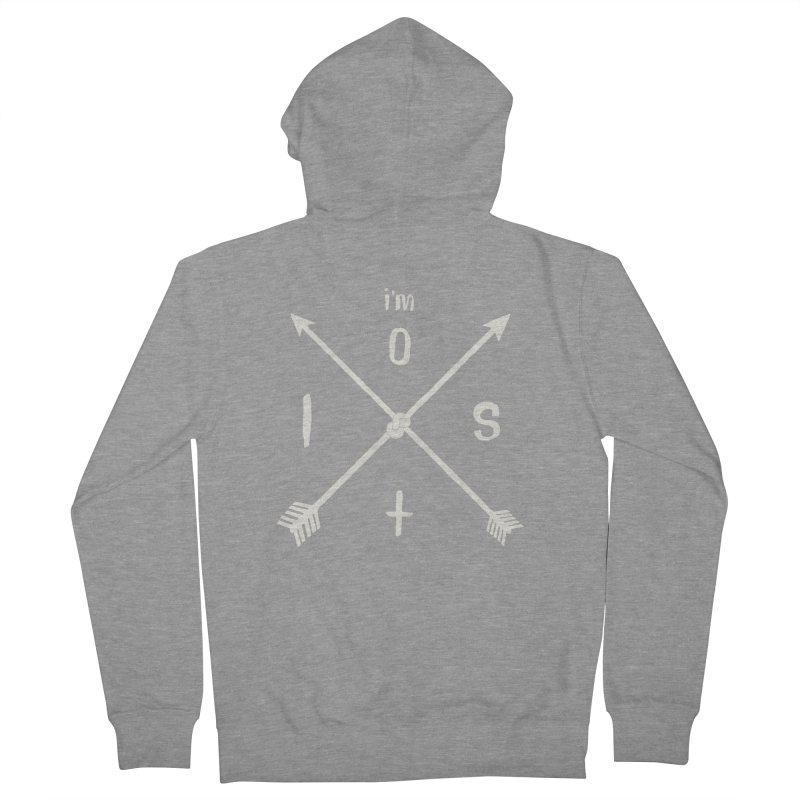 I'M LOST Women's Zip-Up Hoody by alchemist's Artist Shop