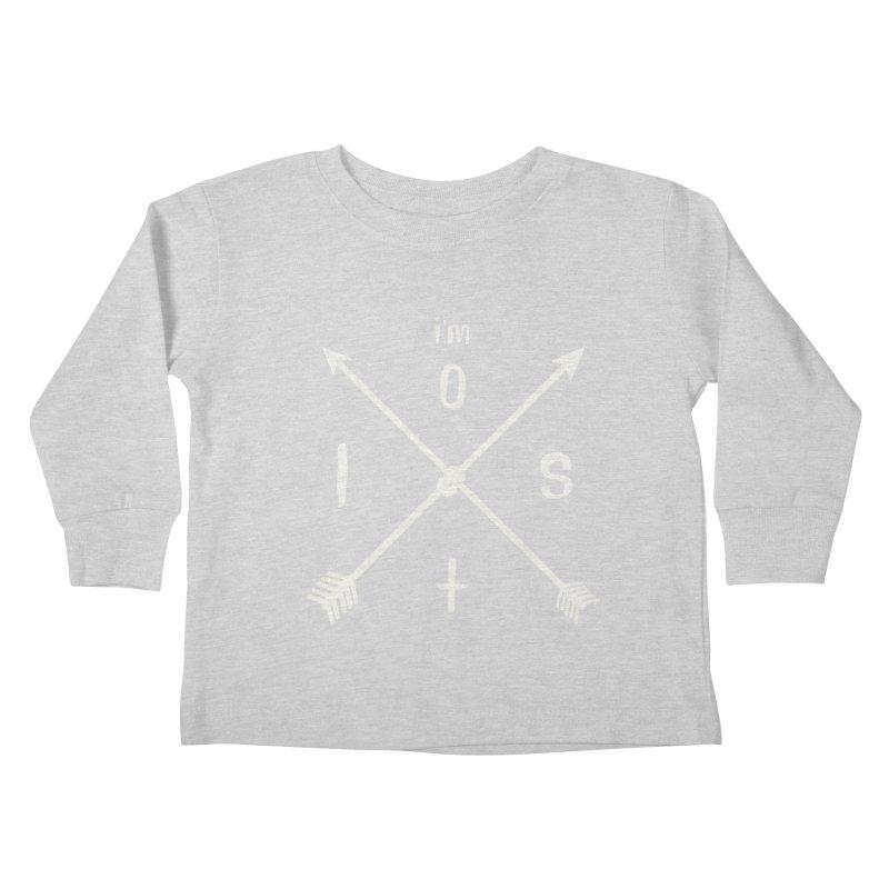I'M LOST Kids Toddler Longsleeve T-Shirt by alchemist's Artist Shop