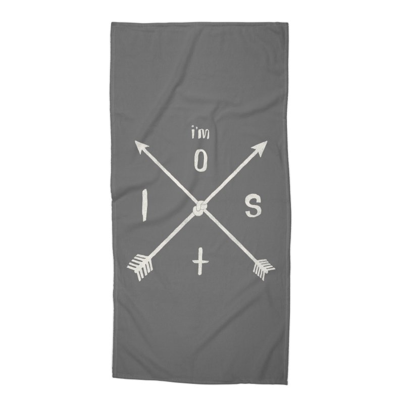 I'M LOST Accessories Beach Towel by alchemist's Artist Shop