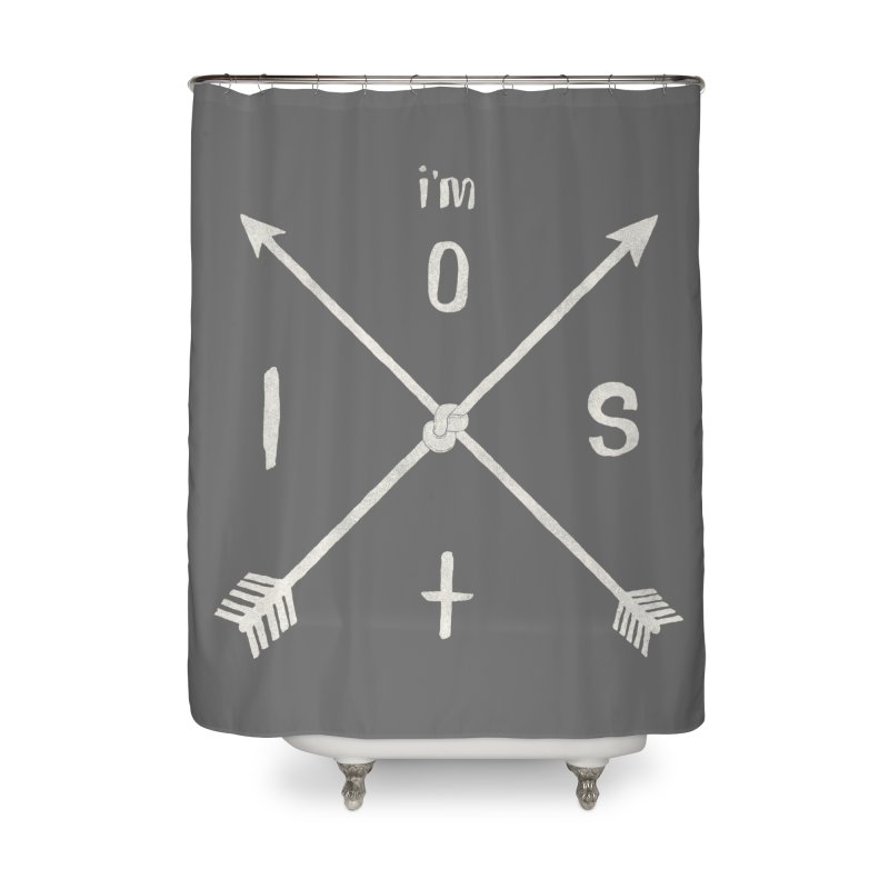 I'M LOST Home Shower Curtain by alchemist's Artist Shop