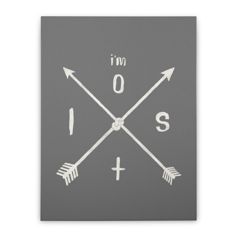 I'M LOST Home Stretched Canvas by alchemist's Artist Shop