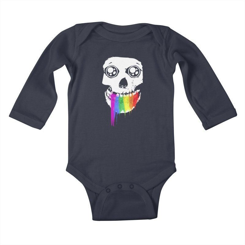 I ATE UNICORN AND IT'S SO SWEET! Kids Baby Longsleeve Bodysuit by alchemist's Artist Shop