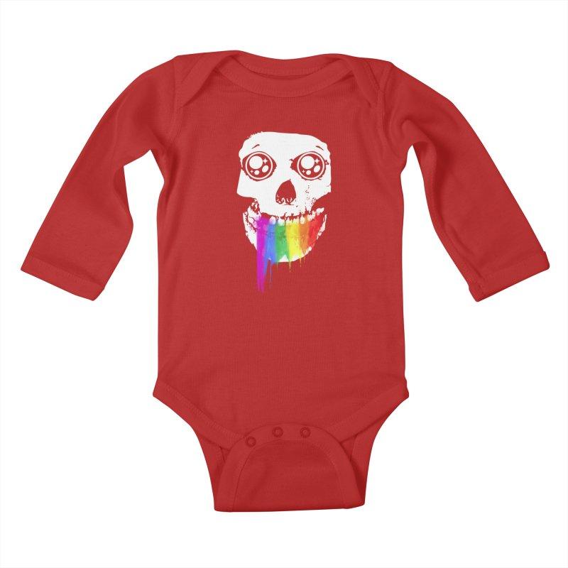 I ATE UNICORN AND IT'S SO SWEET! Kids Baby Longsleeve Bodysuit by alchemist's Artist Shop