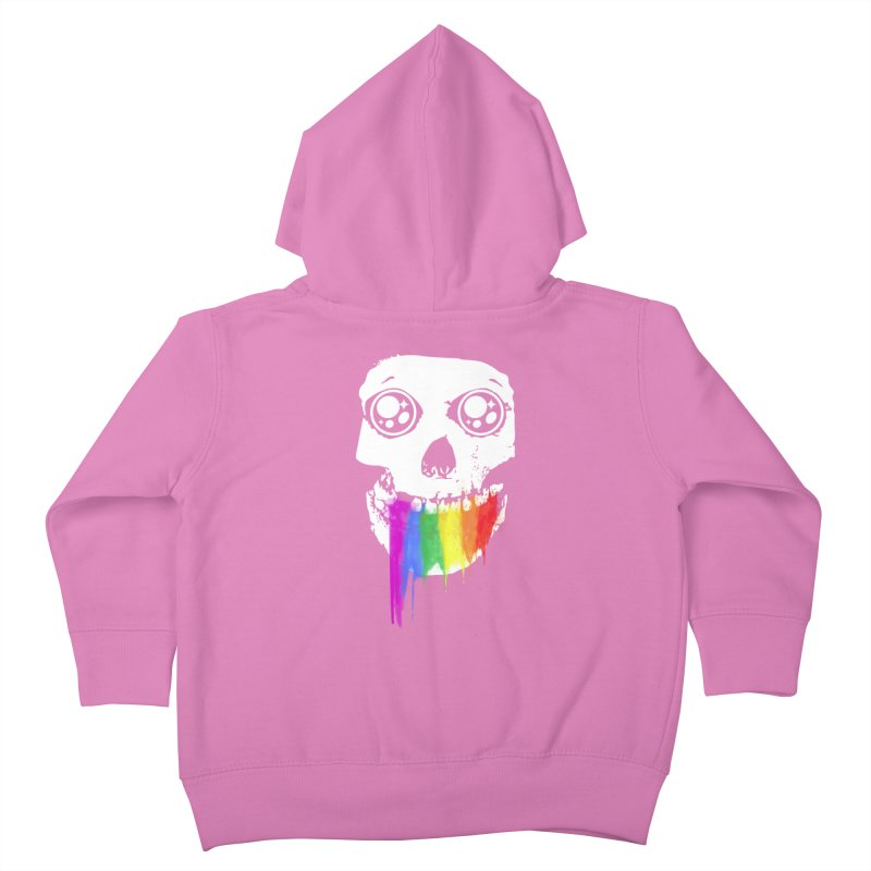 I ATE UNICORN AND IT'S SO SWEET! Kids Toddler Zip-Up Hoody by alchemist's Artist Shop