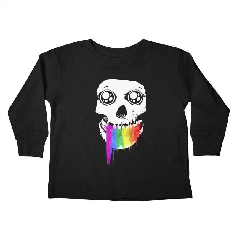 I ATE UNICORN AND IT'S SO SWEET! Kids Toddler Longsleeve T-Shirt by alchemist's Artist Shop
