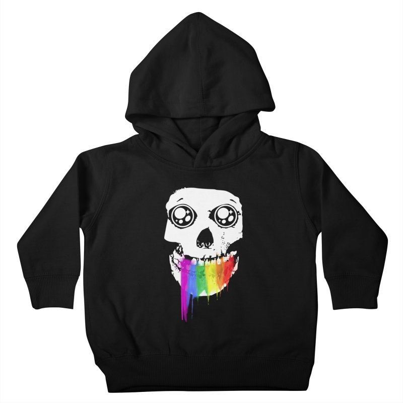 I ATE UNICORN AND IT'S SO SWEET! Kids Toddler Pullover Hoody by alchemist's Artist Shop