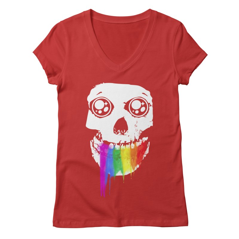 I ATE UNICORN AND IT'S SO SWEET! Women's V-Neck by alchemist's Artist Shop
