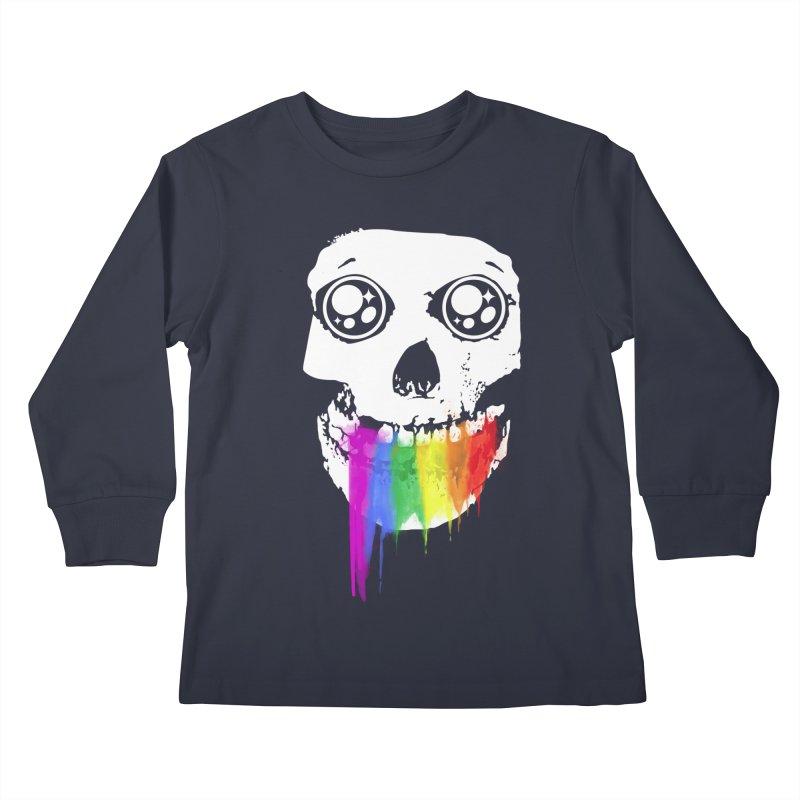 I ATE UNICORN AND IT'S SO SWEET! Kids Longsleeve T-Shirt by alchemist's Artist Shop