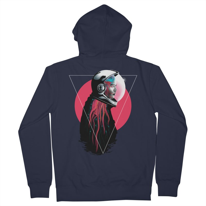 MATILDA X01 Men's Zip-Up Hoody by alchemist's Artist Shop