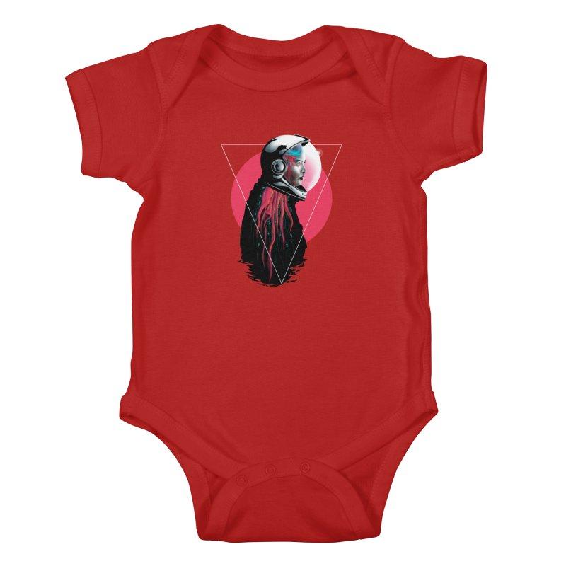 MATILDA X01 Kids Baby Bodysuit by alchemist's Artist Shop