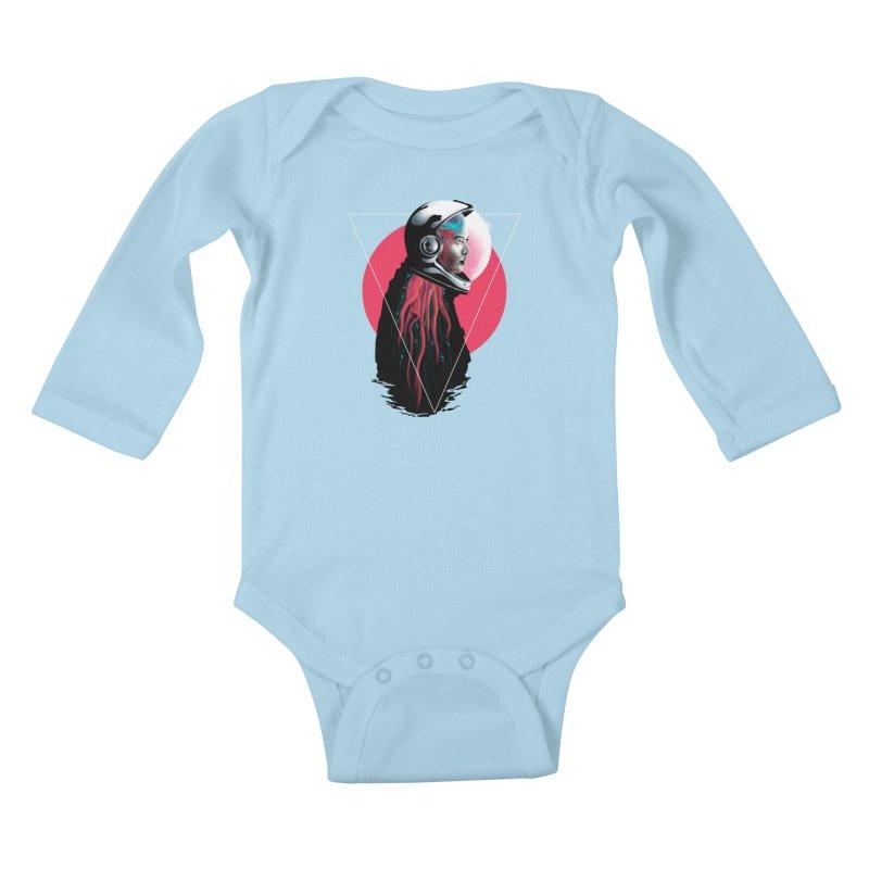 MATILDA X01 Kids Baby Longsleeve Bodysuit by alchemist's Artist Shop