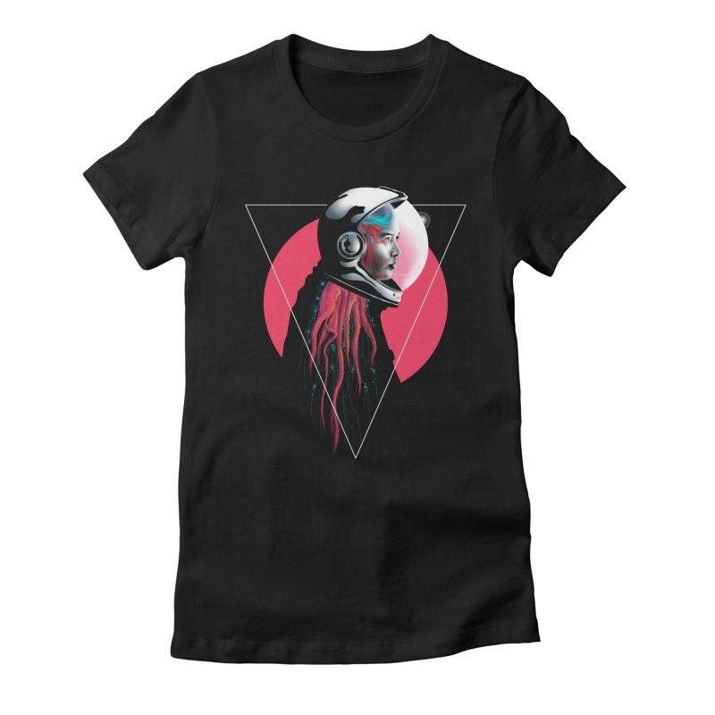 MATILDA X01 Women's Fitted T-Shirt by alchemist's Artist Shop