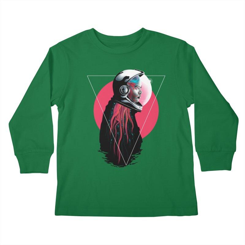 MATILDA X01 Kids Longsleeve T-Shirt by alchemist's Artist Shop