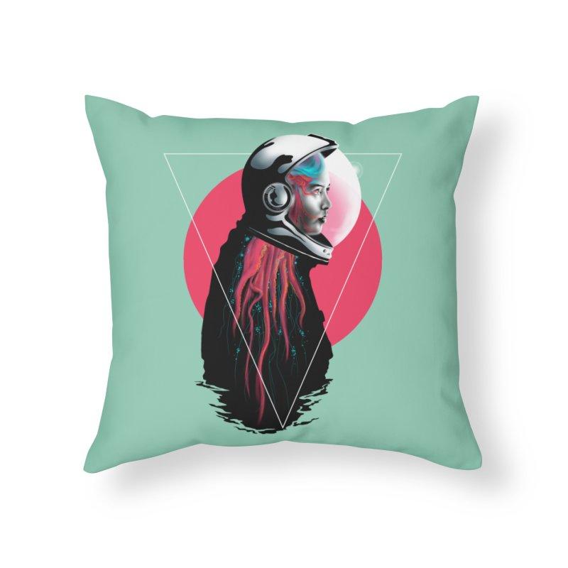 MATILDA X01 Home Throw Pillow by alchemist's Artist Shop