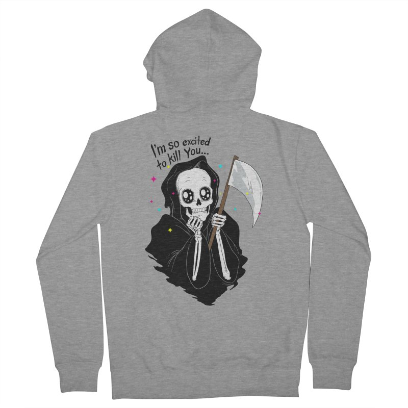 I'M SO EXCITED Women's Zip-Up Hoody by alchemist's Artist Shop
