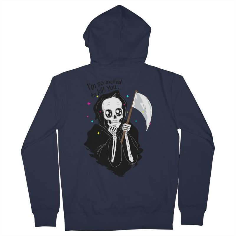 I'M SO EXCITED Men's Zip-Up Hoody by alchemist's Artist Shop