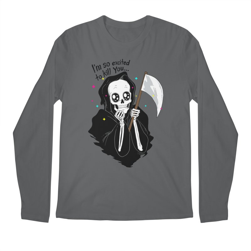 I'M SO EXCITED Men's Longsleeve T-Shirt by alchemist's Artist Shop