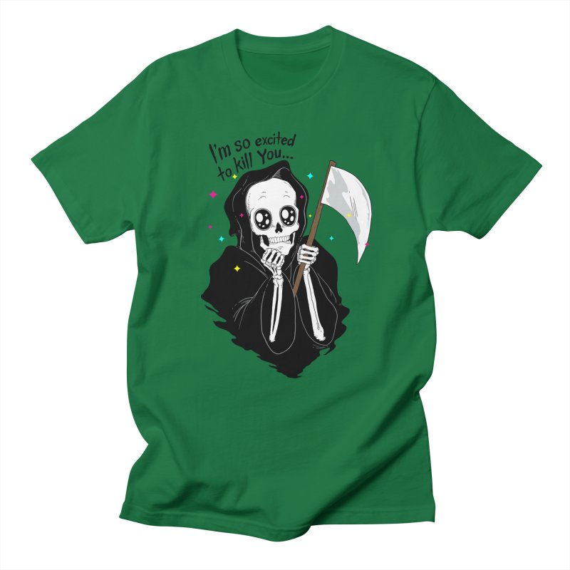 I'M SO EXCITED Men's T-shirt by alchemist's Artist Shop