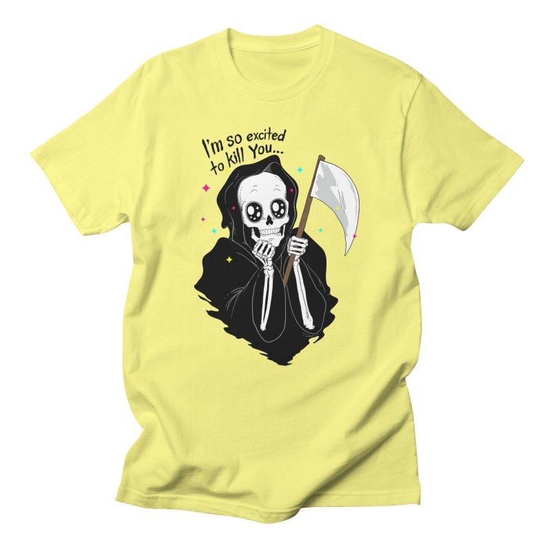 I'M SO EXCITED Women's Unisex T-Shirt by alchemist's Artist Shop