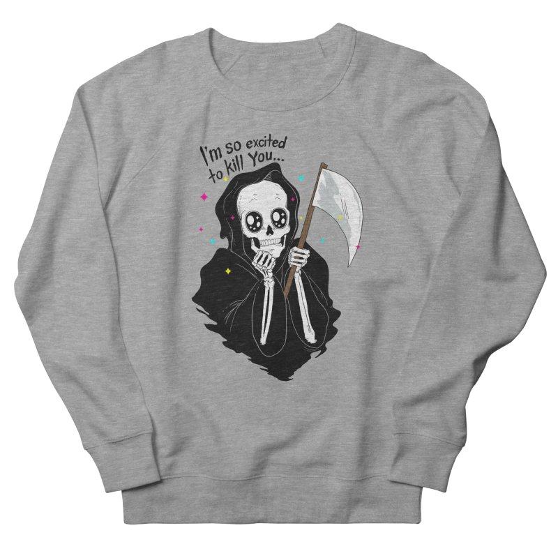 I'M SO EXCITED Women's Sweatshirt by alchemist's Artist Shop