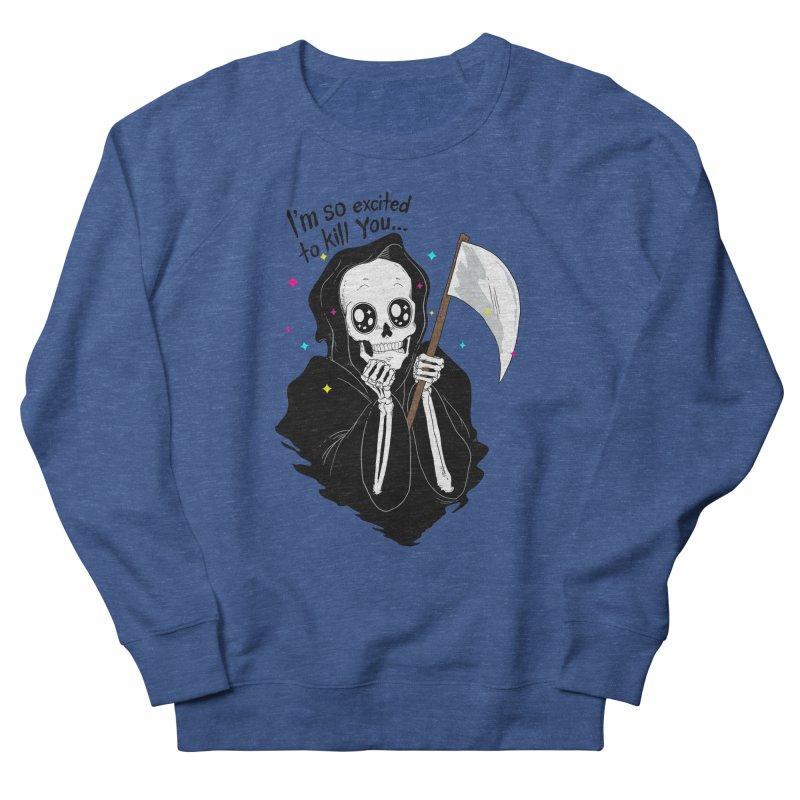I'M SO EXCITED Men's Sweatshirt by alchemist's Artist Shop