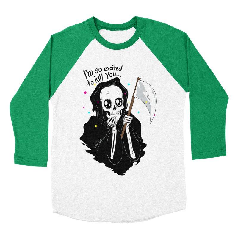 I'M SO EXCITED Women's Baseball Triblend T-Shirt by alchemist's Artist Shop