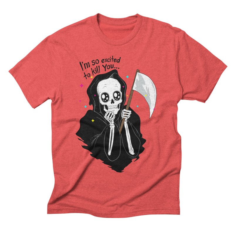 I'M SO EXCITED Men's Triblend T-shirt by alchemist's Artist Shop
