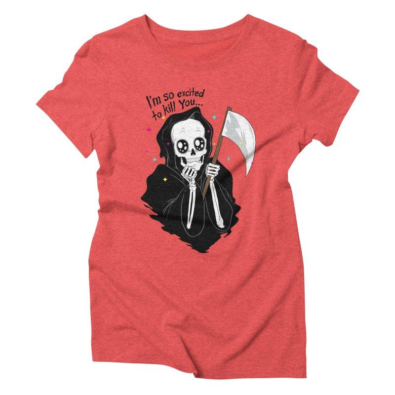 I'M SO EXCITED Women's Triblend T-shirt by alchemist's Artist Shop