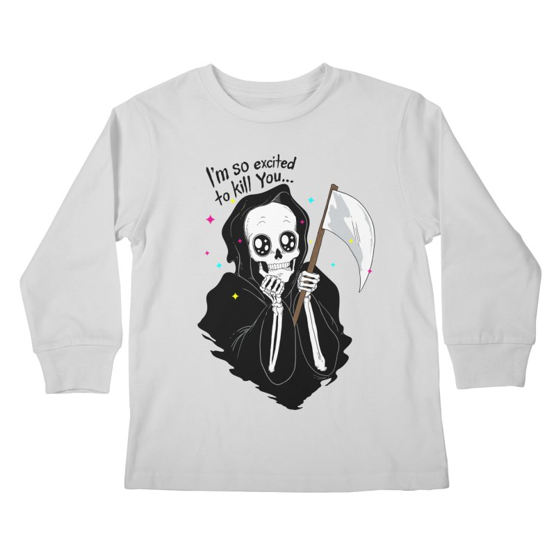 I'M SO EXCITED Kids Longsleeve T-Shirt by alchemist's Artist Shop