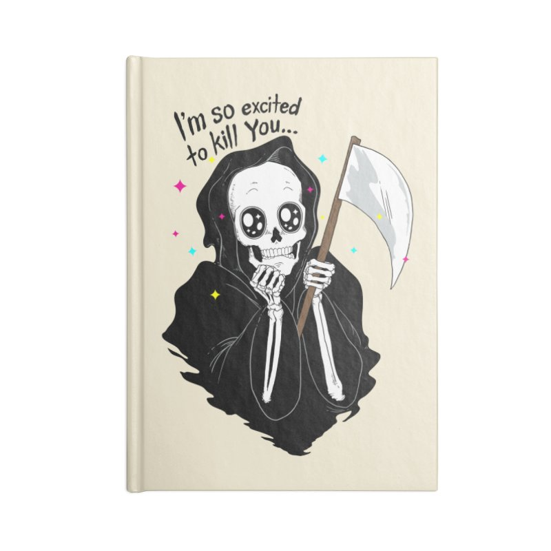 I'M SO EXCITED Accessories Notebook by alchemist's Artist Shop