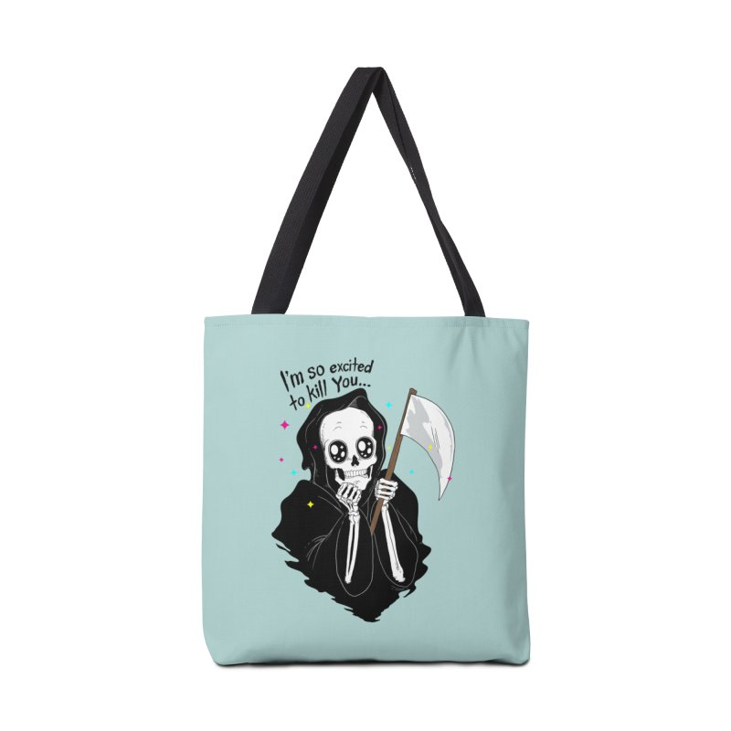 I'M SO EXCITED Accessories Bag by alchemist's Artist Shop