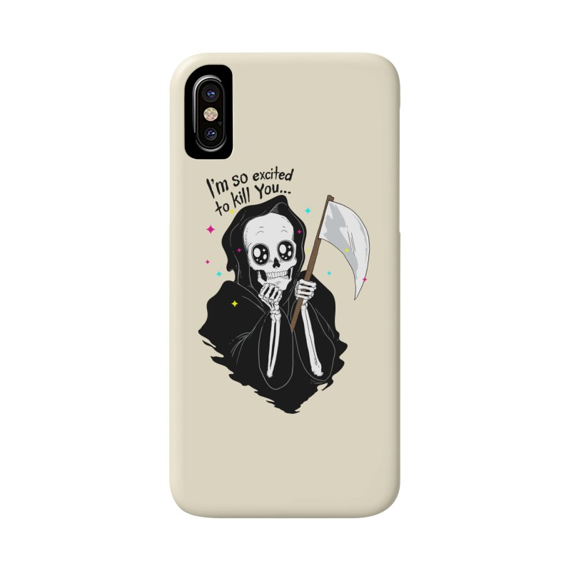 I'M SO EXCITED Accessories Phone Case by alchemist's Artist Shop