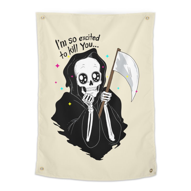 I'M SO EXCITED Home Tapestry by alchemist's Artist Shop