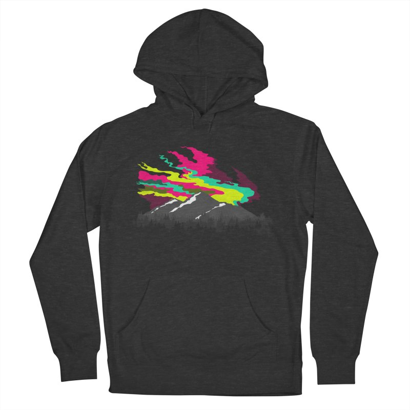 MOUNTAIN FLARE Men's Pullover Hoody by alchemist's Artist Shop