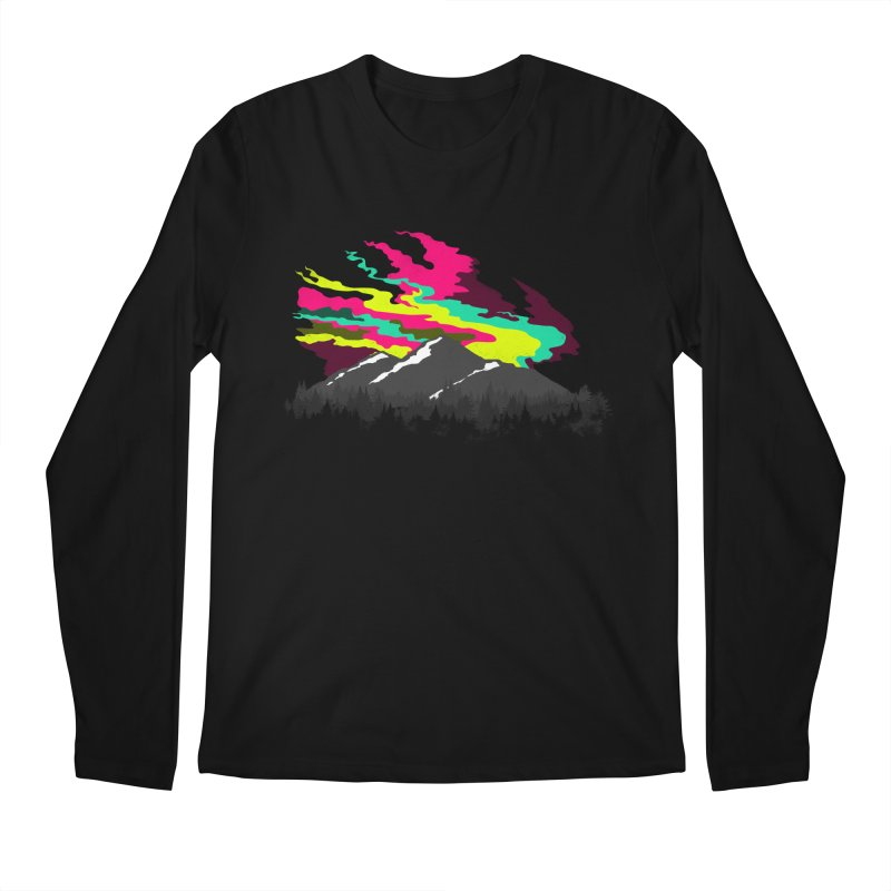 MOUNTAIN FLARE Men's Longsleeve T-Shirt by alchemist's Artist Shop