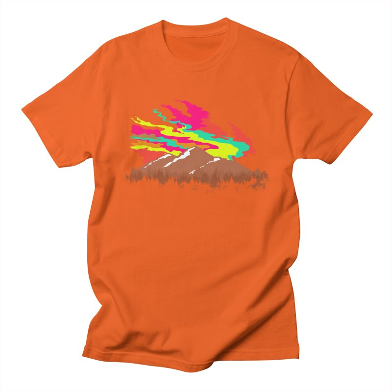 MOUNTAIN FLARE Women's Unisex T-Shirt by alchemist's Artist Shop