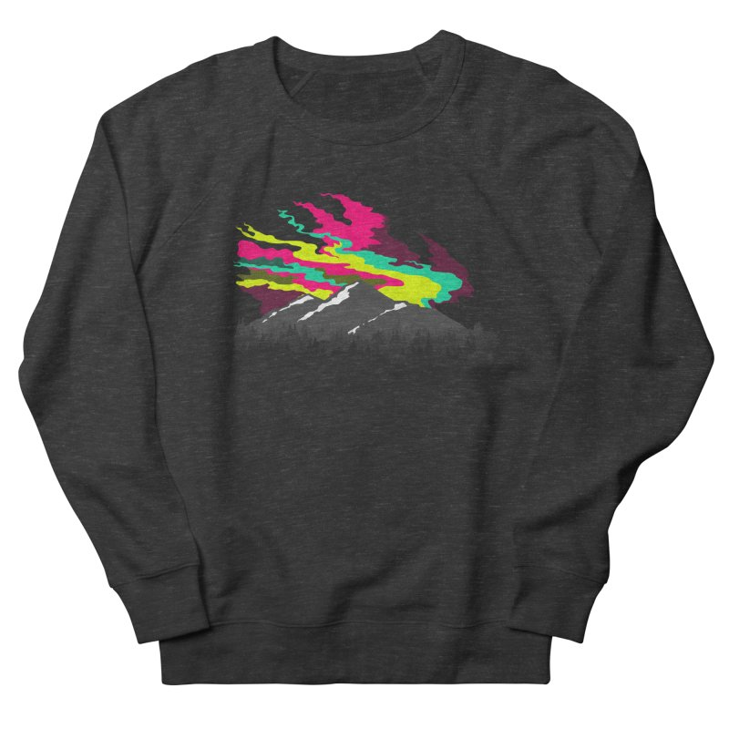 MOUNTAIN FLARE Women's Sweatshirt by alchemist's Artist Shop