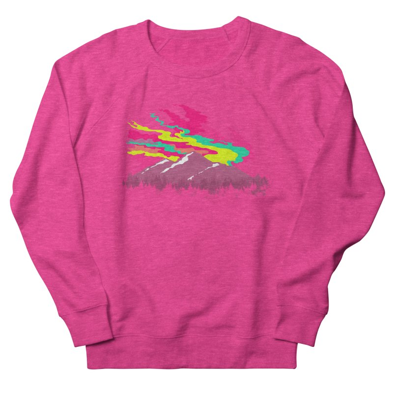 MOUNTAIN FLARE Men's Sweatshirt by alchemist's Artist Shop