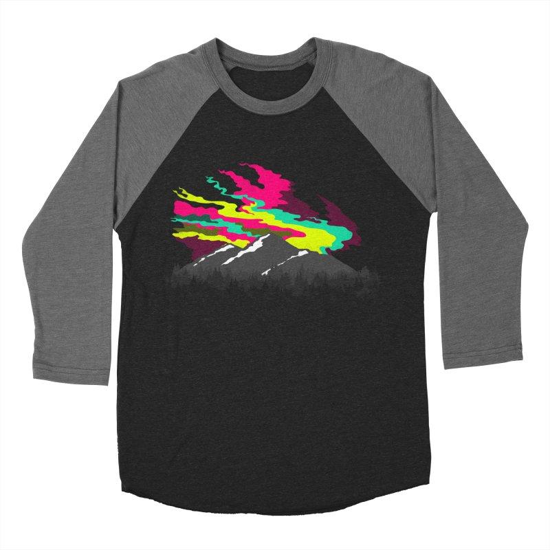 MOUNTAIN FLARE Men's Baseball Triblend T-Shirt by alchemist's Artist Shop