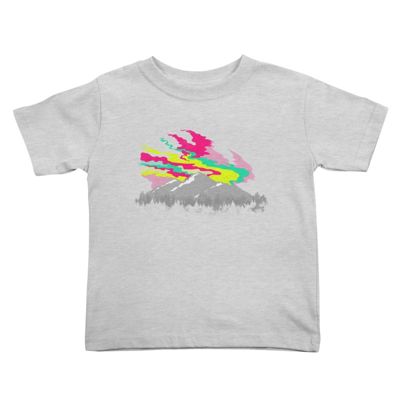 MOUNTAIN FLARE Kids Toddler T-Shirt by alchemist's Artist Shop
