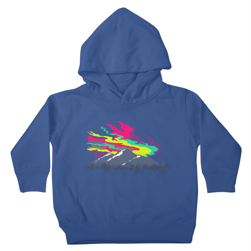 MOUNTAIN FLARE Kids Toddler Pullover Hoody by alchemist's Artist Shop