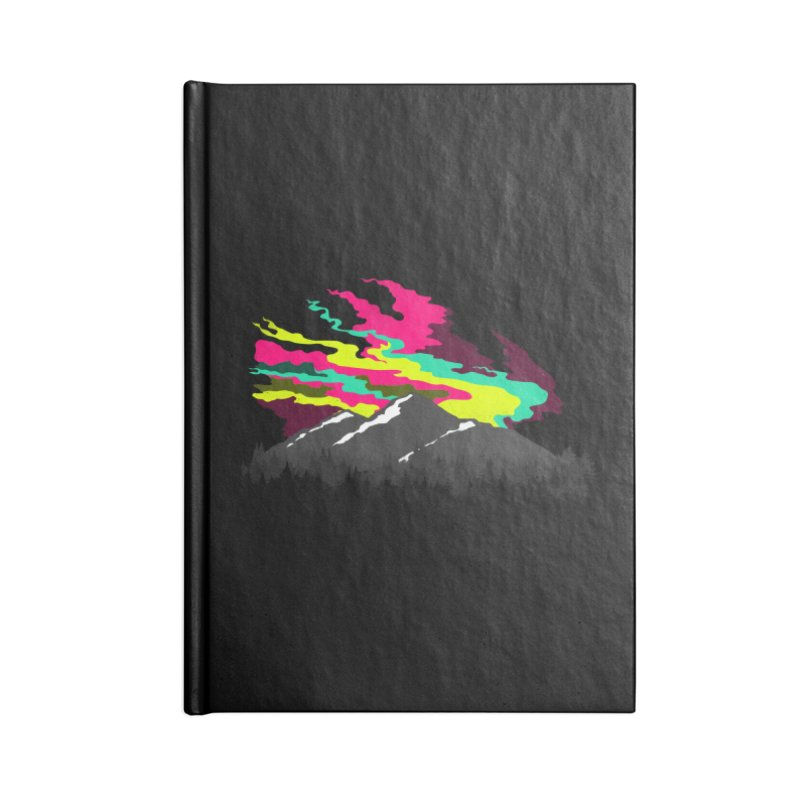 MOUNTAIN FLARE Accessories Notebook by alchemist's Artist Shop