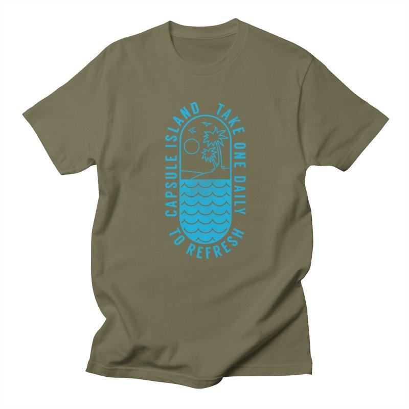 CAPSULE ISLAND Men's T-shirt by alchemist's Artist Shop