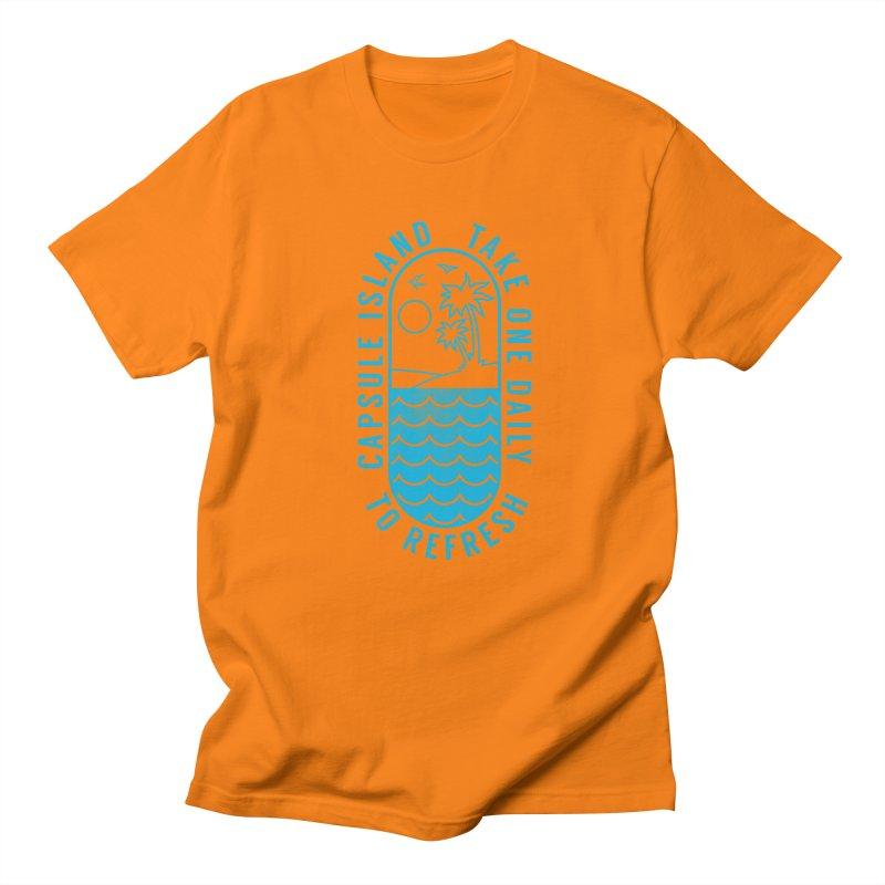 CAPSULE ISLAND Women's Unisex T-Shirt by alchemist's Artist Shop