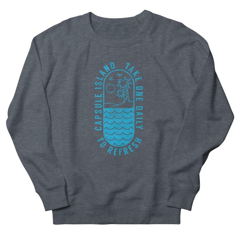 CAPSULE ISLAND Women's Sweatshirt by alchemist's Artist Shop