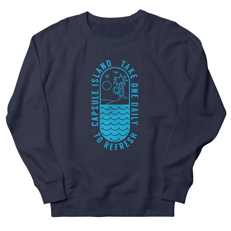 CAPSULE ISLAND Men's Sweatshirt by alchemist's Artist Shop